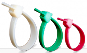 Colliers de serrage plastique